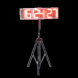 Horloge simple face